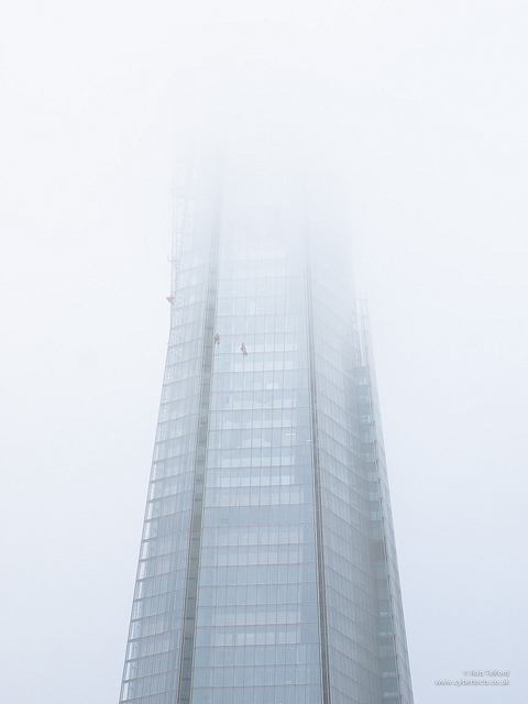 Shard in the mist, by Rob Telford