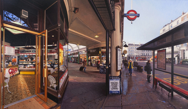 Clive Head, South Ken, 2009. Image courtesy of Marlborough Fine Art (Previous work, not in current exhibition)