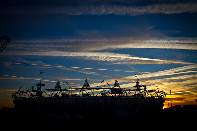 Sun sets on London 2012, by Bambography