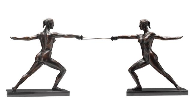 Daphne du Barry, The Fencer