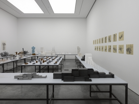 Antony Gormley, The Model Room. Image courtesy White Cube