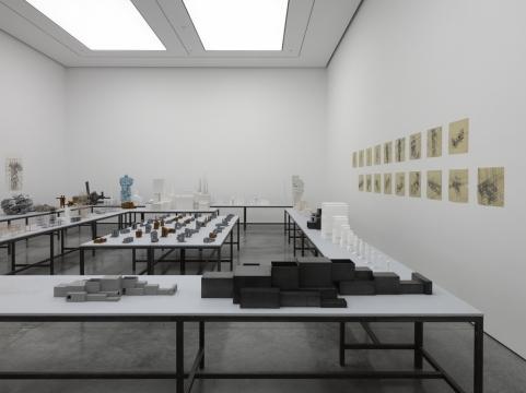 Antony Gormley, The Model Room. Image courtesy White Cube