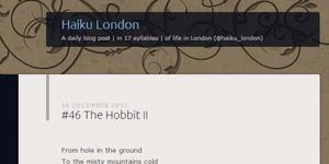 New Website: Haiku London