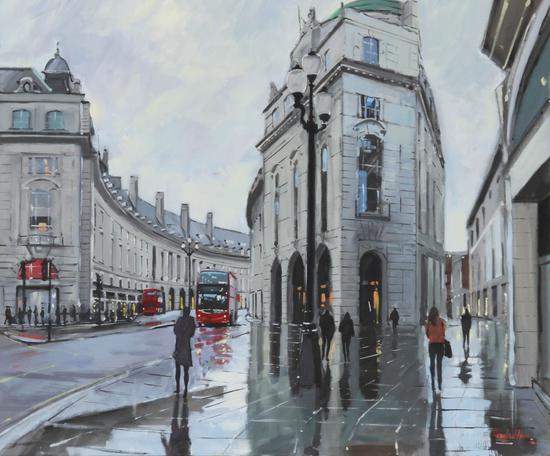 Charles Rowbotham, Pavement Reflections. Image courtesy of the artist.
