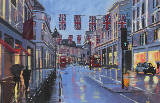 Charles Rowbotham, Evening Reflections London. Image courtesy of the artist.