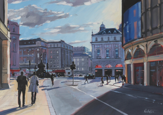Charles Rowbotham, Piccadily Sunlight. Image courtesy of the artist.