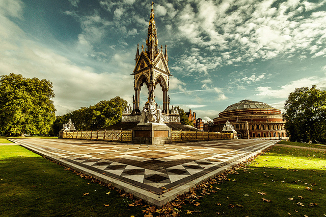 Albert Memorial, by Scott Baldock, from 'All About Albert' on 12 October
