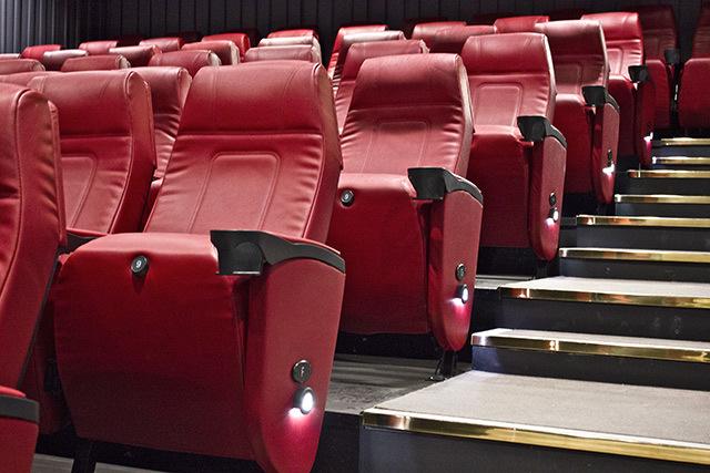 Seats in Cinema 2. Photo / Susana Sanroman