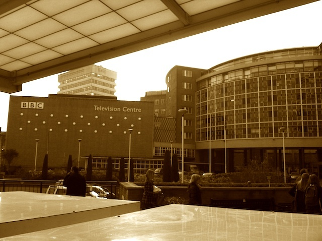 Outside Television Centre