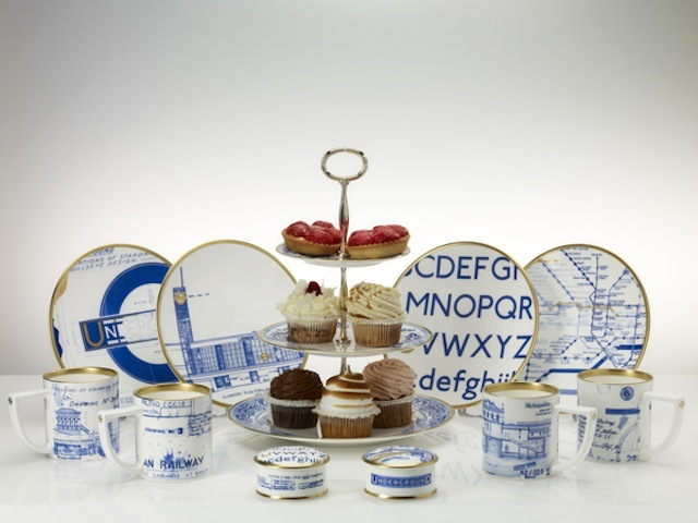 Blueprint ceramic collection