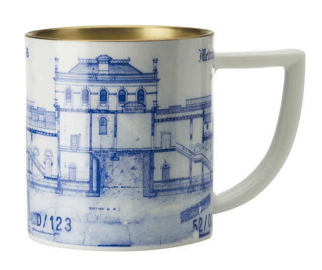 Blueprint mug - Paddington Station £26.00