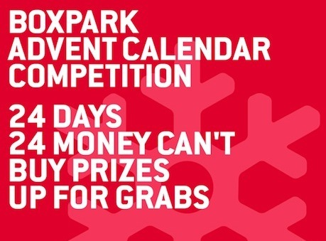 Win Exclusive Prizes With The Boxpark Advent Calendar
