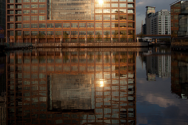 Heron Quays, by worldoflard, from 'London Reflected' on 4 May