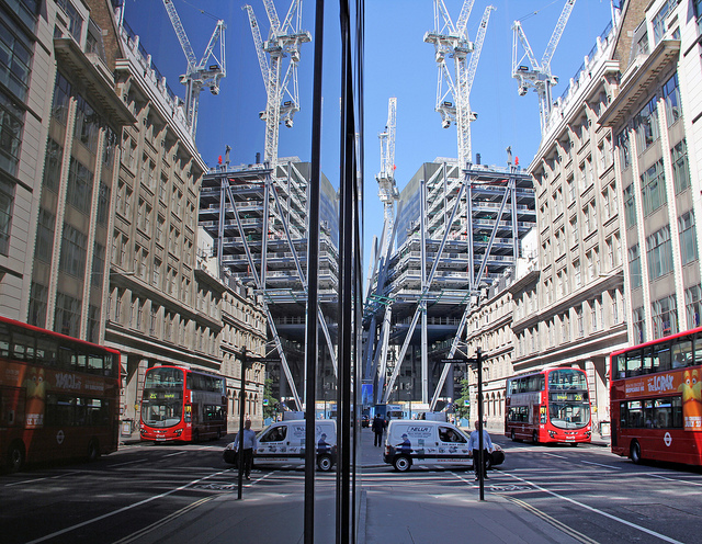 Leadenhall reflected, by st_hart, from 'London Reflected' on 31 August