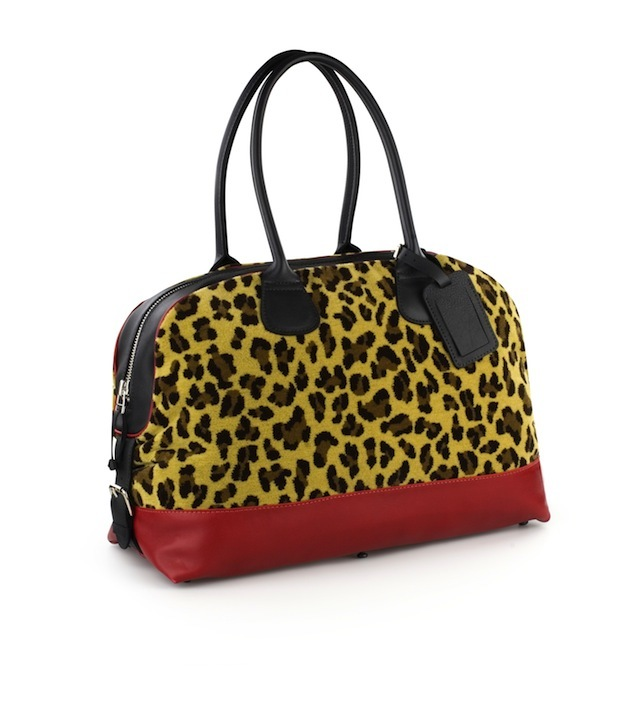 Leopard Print Moquette Daytripped Holdall. £259.00