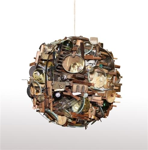 Lesley Hilling, Sphere 4. Image courtesy Nancy Victor.