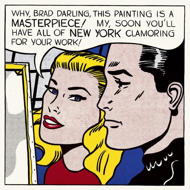 Roy Lichtenstein, Masterpiece 1962. Private Collection © Estate of Roy Lichtenstein/DACS 2012