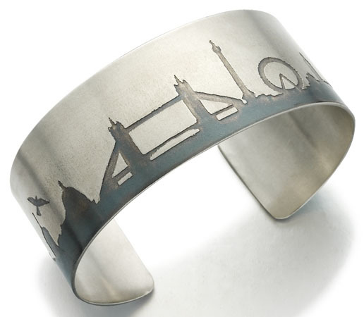 Santa's Lap: London Skyline Jewellery