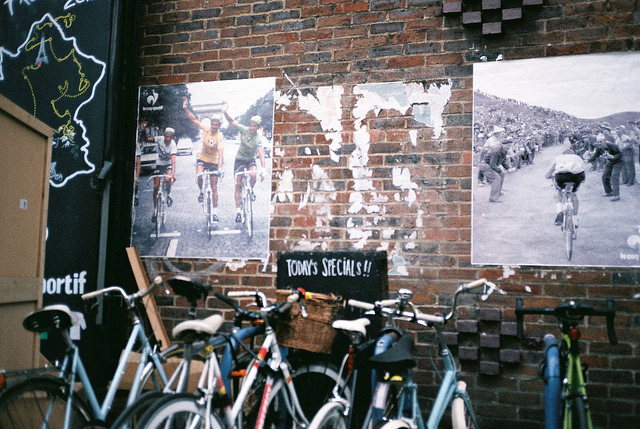 Have you been to this cycling café?