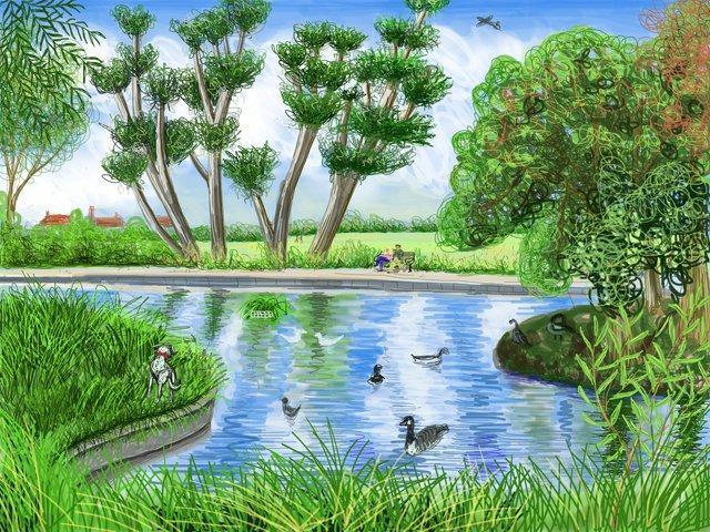 Lordship Rec pond
