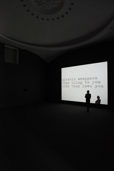 Outtakes from the Life of a Happy Man 2012. Installation view, Jonas Mekas Serpentine Gallery, London. © 2012 Jerry Hardman-Jones
