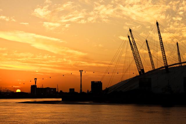 Sunrise over East London I