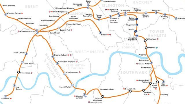 Final Section Of Overground Network Opens In South London