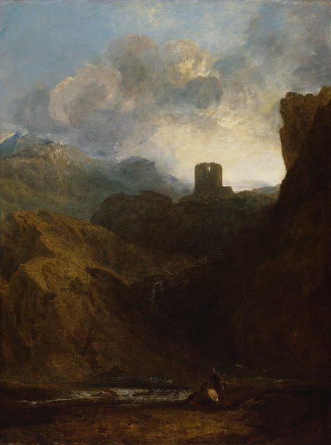 03/1383  PL000980  J. M. W. Turner R.A.  Dolbadern Castle, 1800  Oil on canvas, 119.4 x 90.2 cm  Photo: Prudence Cuming Associates Limited �© Royal Academy of Arts, London
