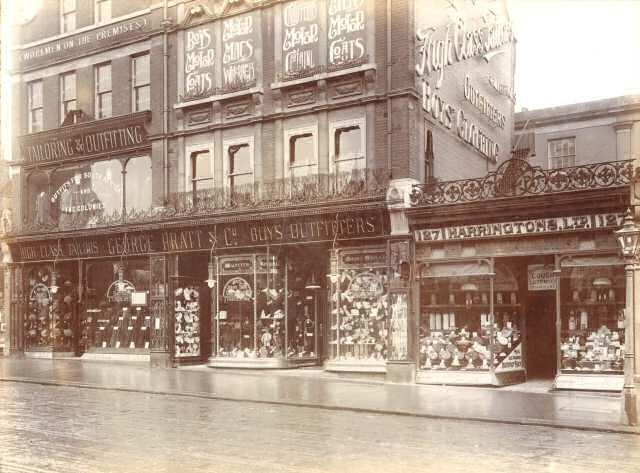 Pratts, in Streatham. Built in 1867, it eventually became part of the John Lewis group and closed in 1990.