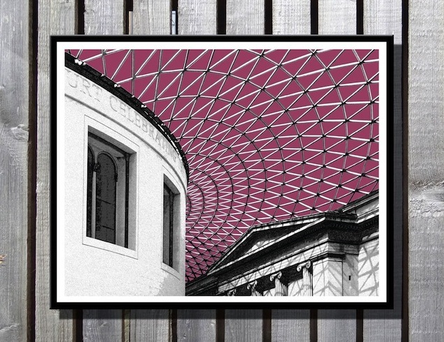 Santa's Lap: Limited Edition London Landmark Prints