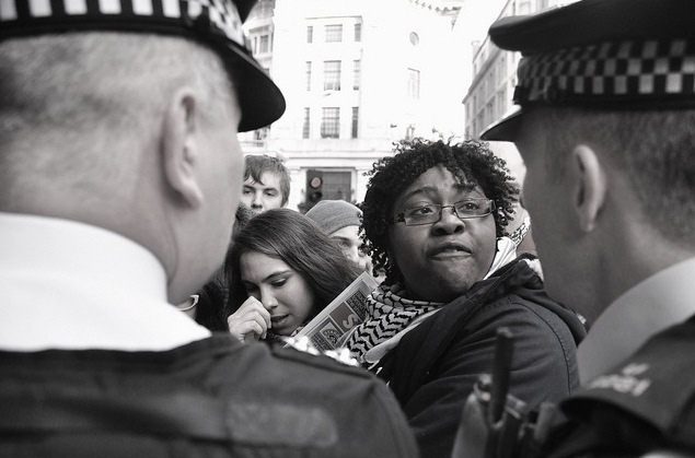 UK Uncut Starbucks protest 8/12/12