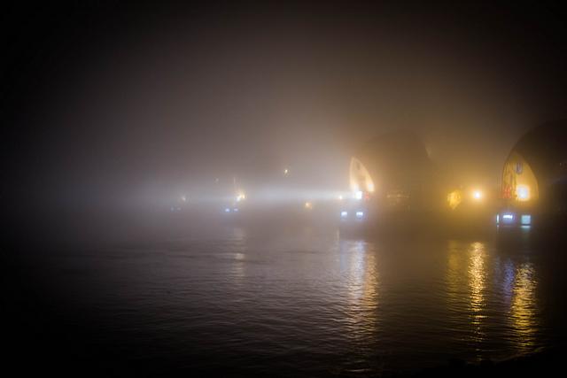 Thames Barrier, by rudolph van Graan