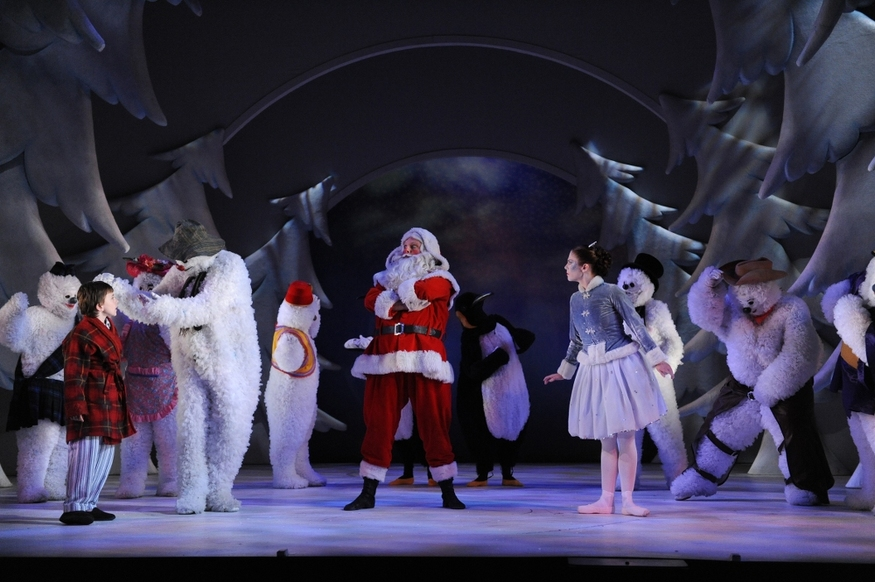 Dance Review: The Snowman @ The Peacock Theatre