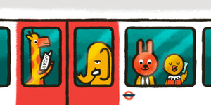 Londonist Underground: Tube Animals