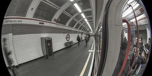 Londonist Underground: Fish-Eye Tube