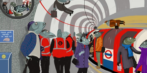 Londonist Underground: iPad Drawings Of The Tube