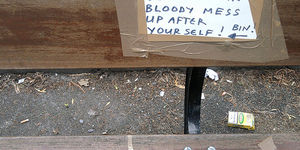 'Lucrative' Litter Fines Criticised