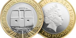 New £2 London Underground Coins In Circulation