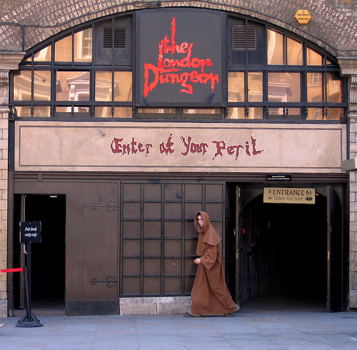 Last Day For The London Dungeon