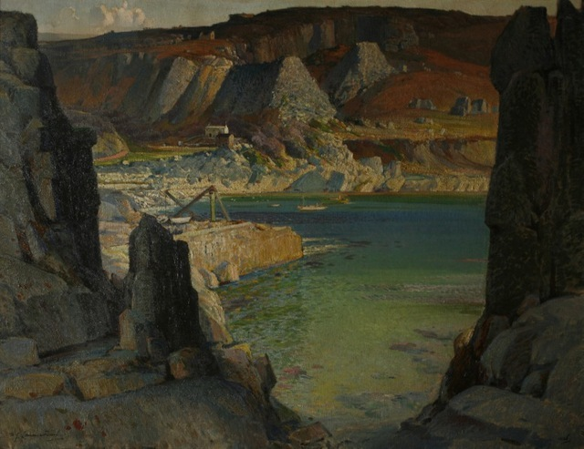 'Morning Fills the Bowl' Samuel 'Lamorna' Birch (1869 - 1955) Oil on canvas, 1927 © Royal Cornwall Museum