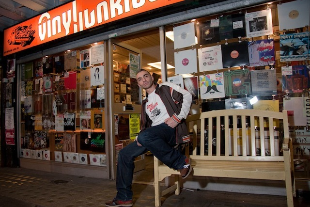 JP, Vinyl Junkies, Berwick Street (now closed)