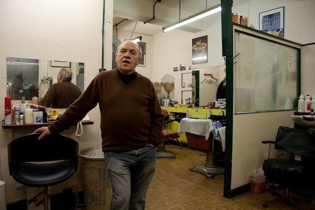 Pasquale, Italian Hair Stylist, Berwick Street