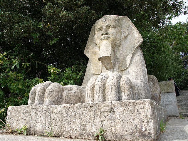 A Crystal Palace Park Sphinx by Past London
