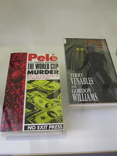 Two oddities: did you know former footballers Pele and Terry Venables penned crime thrillers?