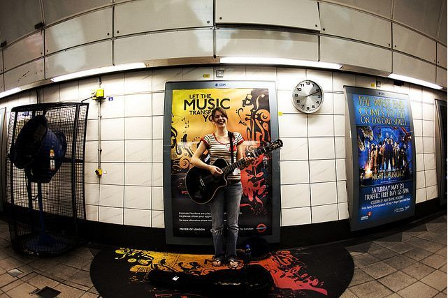 London Underground Invites Busking Auditions