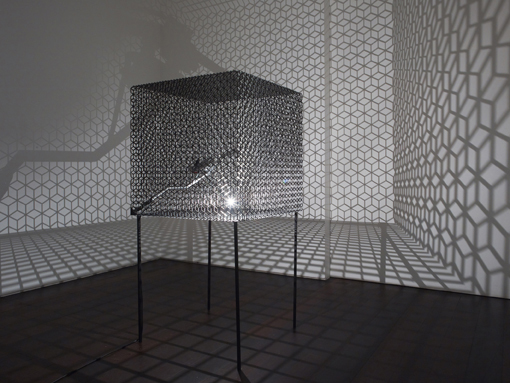 Conrad Shawcross Slow Arc Inside a Cube IV (2009) © the artist Image courtesy the artist and Victoria Miro Gallery, London