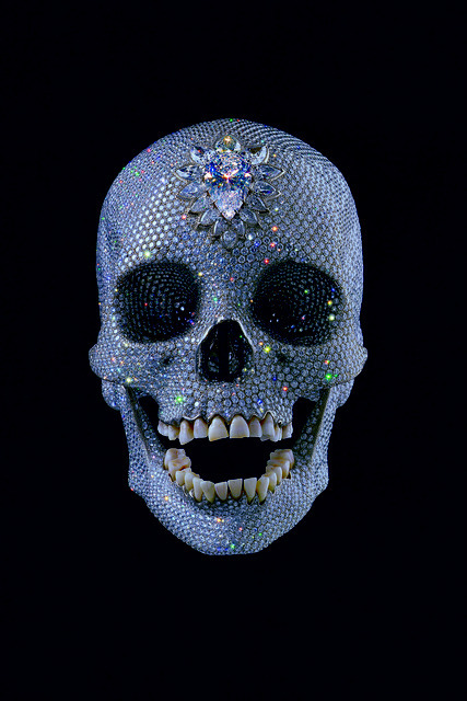 Damien Hirst, For The Love Of God. Courtesy Paul Stolper