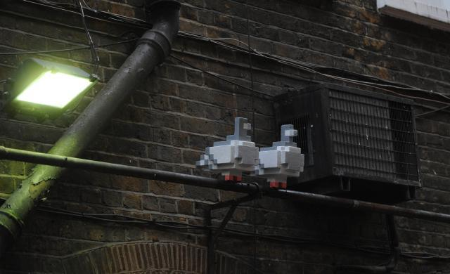Pixellated pigeons