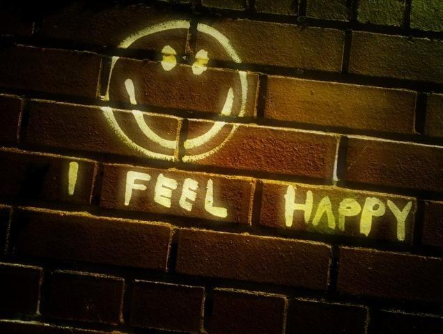 Smiley wall, by poppelus