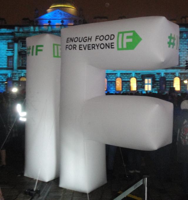 Enough Food For Everyone 'If' Campaign Launch @ Somerset House